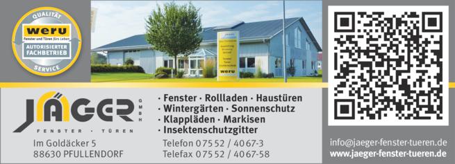 Anzeige Jäger GmbH
