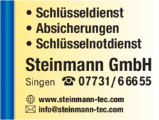 Anzeige Steinmann GmbH