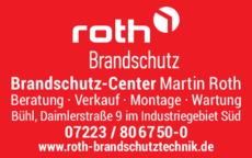 Anzeige Roth Brandschutz