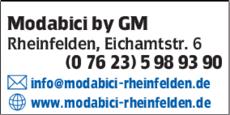 Anzeige Modabici by GM