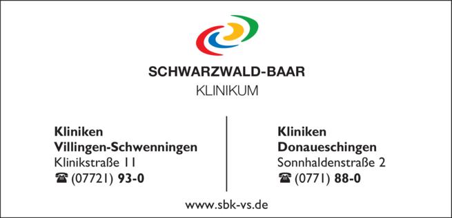 Anzeige Schwarzwald-Baar Klinikum