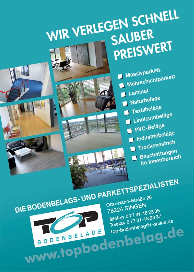 Anzeige TOP Bodenbelag GmbH