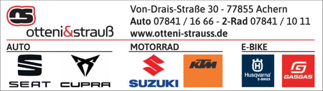 Anzeige Otteni & Strauß GmbH