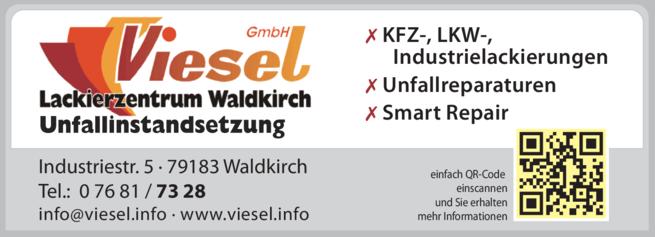 Anzeige Viesel GmbH