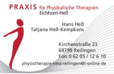 Anzeige Eichhorn & Hess