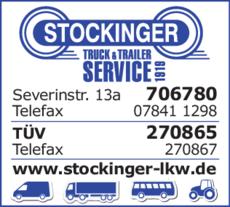 Anzeige Stockinger Truck & Trailer Service