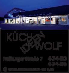Anzeige Wolf Küchen