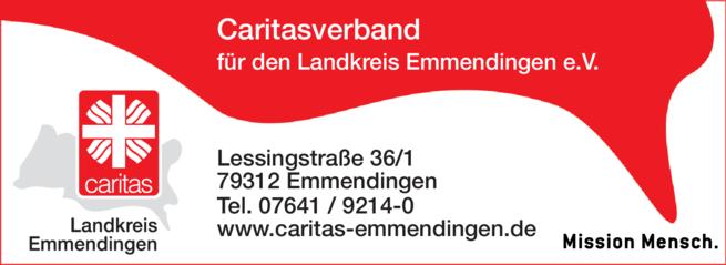 Anzeige Caritasverband für den Landkreis Emmendingen e.V.