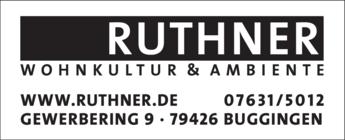 Anzeige Ruthner Wohnkultur GmbH
