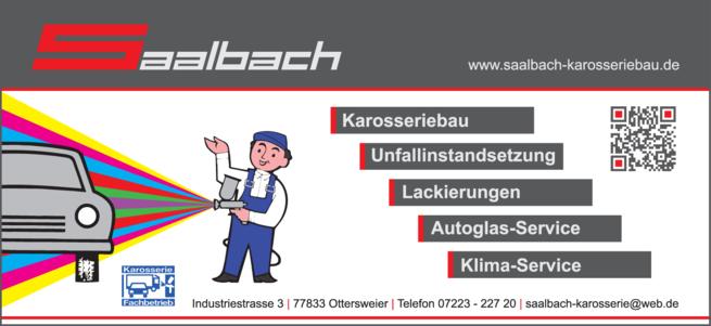 Anzeige Saalbach