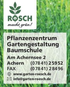 Anzeige Rösch
