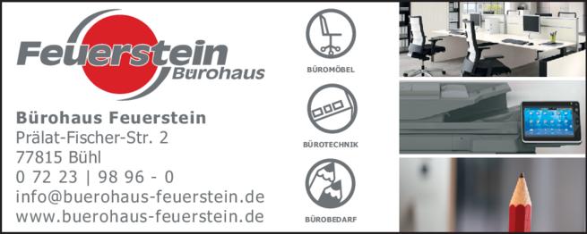 Anzeige Feuerstein Büroeinrichtungen GmbH