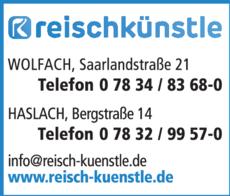 Anzeige Reisch & Künstle