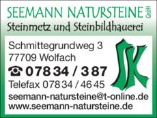 Anzeige Seemann GmbH