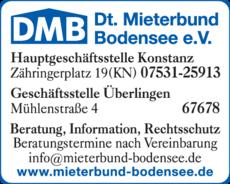 Anzeige Mieterbund