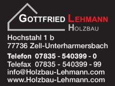 Anzeige Lehmann Gottfried