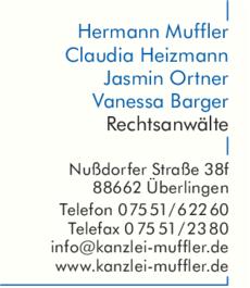 Anzeige Muffler Hermann