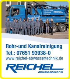Anzeige Reichel Rohrreinigung