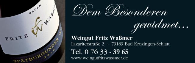 Anzeige Waßmer Fritz