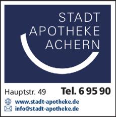 Anzeige Stadt Apotheke Achern
