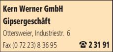 Anzeige Kern Werner GmbH