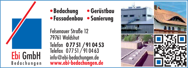 Anzeige Ebi GmbH