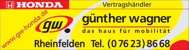 Anzeige Wagner Günther Autohaus