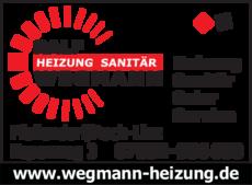 Anzeige Wegmann, Heizung-Sanitär-Solar-Service