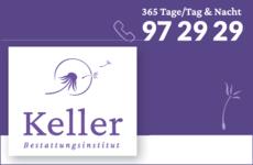 Anzeige Bestattungsinstitut Keller