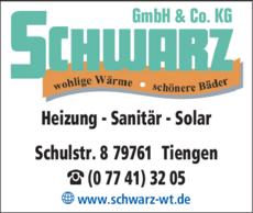 Anzeige Schwarz GmbH u. Co. KG
