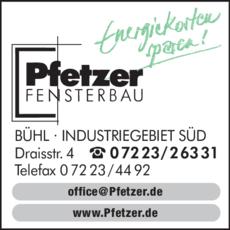 Anzeige Pfetzer