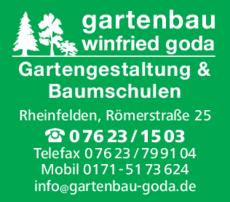 Anzeige Goda Winfried