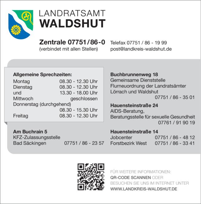 Anzeige Landratsamt Waldshut