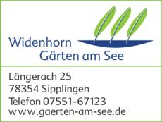 Anzeige Widenhorn Gärten am See