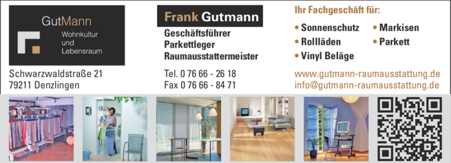 Anzeige Gutmann