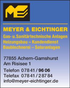 Anzeige Meyer & Eichtinger GmbH
