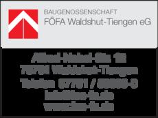 Anzeige FÖFA Waldshut-Tiengen eG