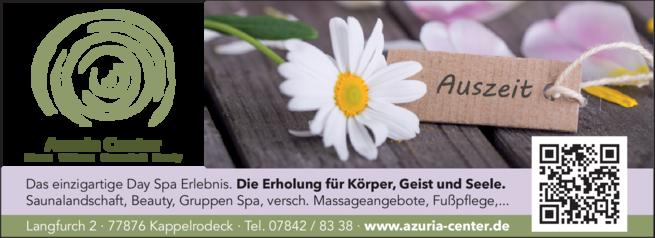 Anzeige Azuria Center