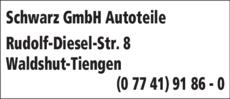 Anzeige Schwarz GmbH