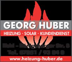 Anzeige Huber Georg GmbH & Co. KG