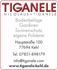 Anzeige Tiganele Nicolaus