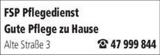 Anzeige FSP Pflegedienst