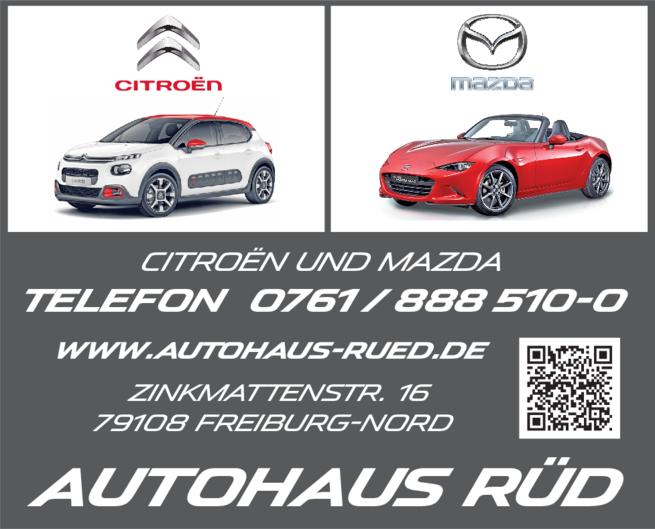 Anzeige Rüd Autohaus