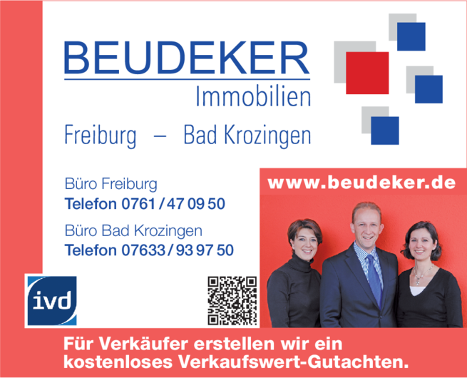 Anzeige Beudeker Immobilien GmbH