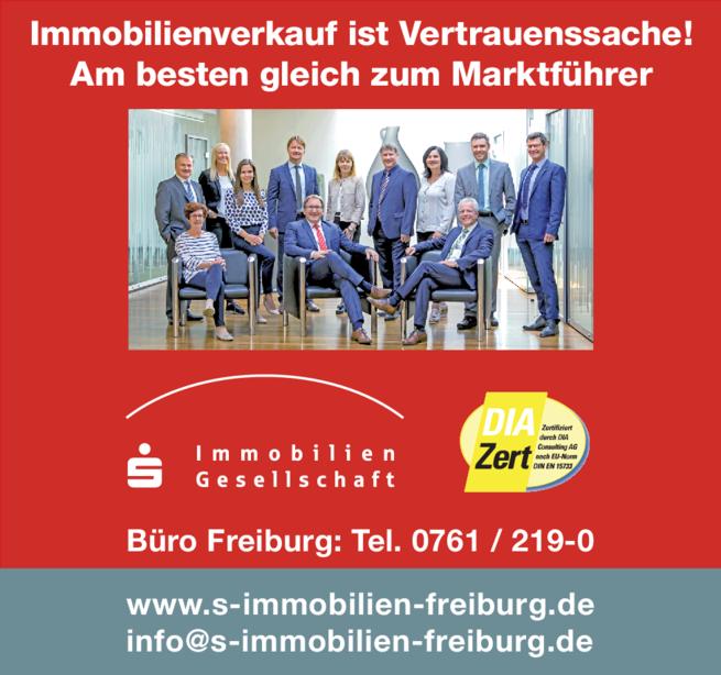 Anzeige Sparkassen-Immobilien-Gesellschaft mbH