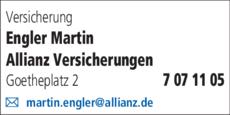 Anzeige Engler Martin