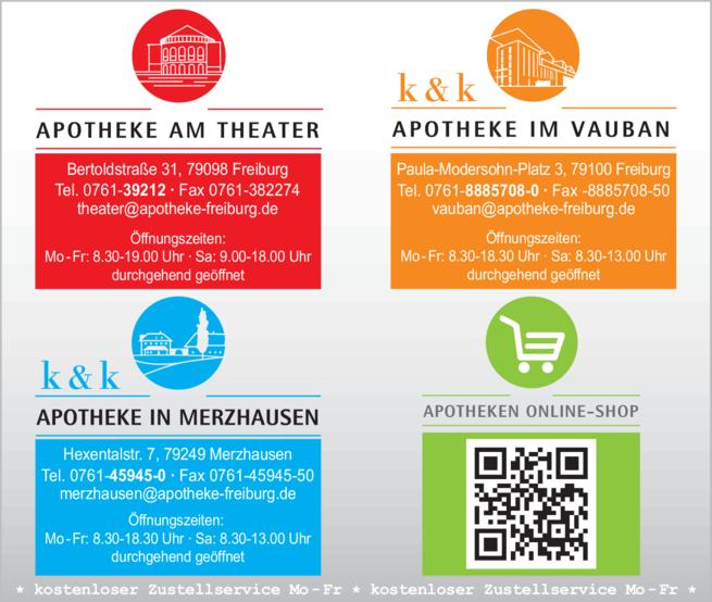 Anzeige Apotheke am Theater
