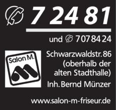 Anzeige Münzer