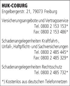 Anzeige HUK-COBURG
