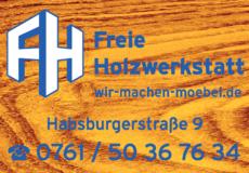 Anzeige Freie Holzwerkstatt GmbH